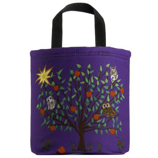owls-raptors-apple-tree-purple-eco-kids-tote-bag