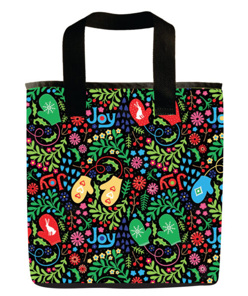 pattern-christmas-holiday-emily-dyer-mittens-black-green-red-recycled-materials-washable-grocery-bag-1000w