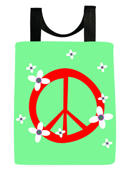 peace-symbol-flowers-washable-tote-reuseable-bag-back