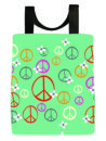 peace-symbol-flowers-washable-tote-reuseable-bag-front