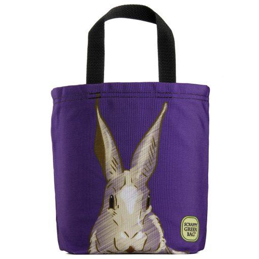 purple-bunny-rabbit-hare-eco-kids-tote