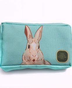 rabbit-hare-bunny-aqua-utility-bag-sputlaqua01