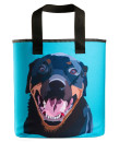 "the rottweiler grocery bag with 27"" handles"