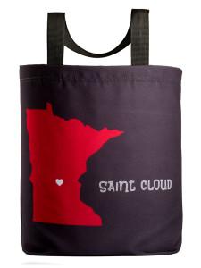 Saint Cloud Love Tote wiht 27 inch handles