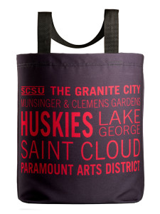 saint cloud icon tote with 27 inch handles