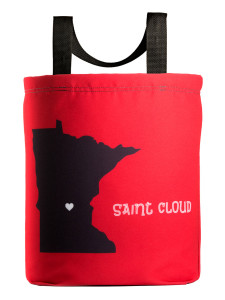 Saint Cloud Love Tote Bag wiht 27 inch handles