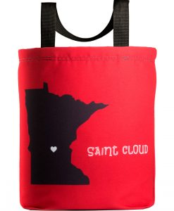 Saint Cloud Love Tote Bag wiht 27 inch handles