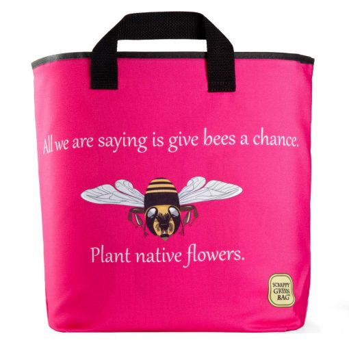 save-the-bees-pink-plant-native-flowers