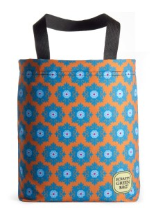 spring-flower-tapestry-pattern-orange-blue-hip-chic-vibrant-bold-american-made-eco-friendly-tote-bag