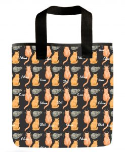 cat-silhouettes-grocery-bag