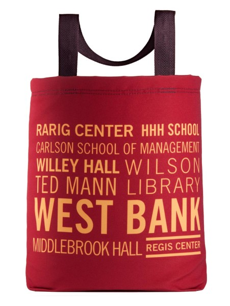 university-of-minnesota-west-bank-rarig-center-hhh-willey-hall-ted-mann-eco-tote-bag