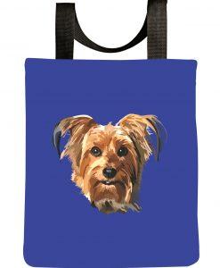 Yorkie-dog-tote-bag